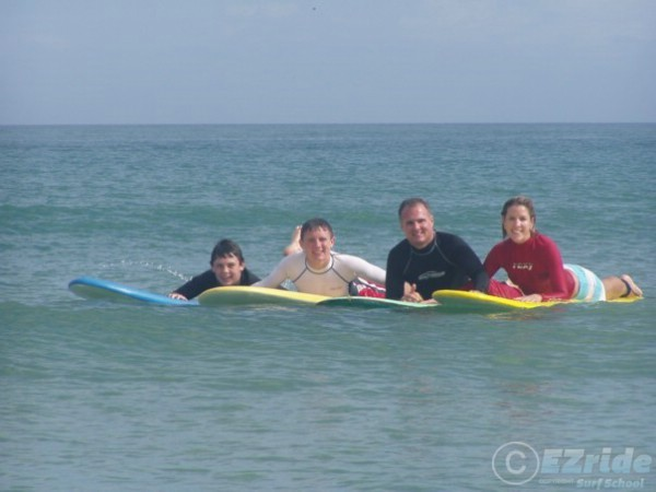EZride Surf Lessons for Families