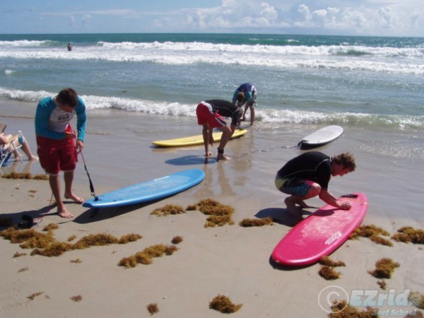 Corporate Team Building surf lessons