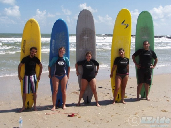 Corporate team building surf lessons in Florida