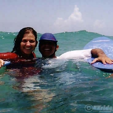 Surfing Honeymoon