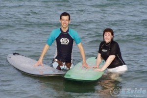 couples surf lessons florida